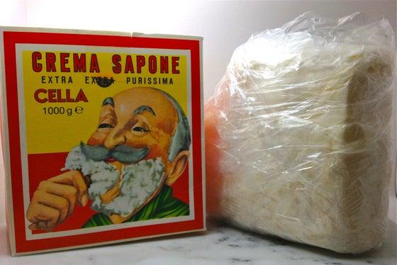 Image of Cella Extra Extra Purissma Shaving Soap 4 oz piece