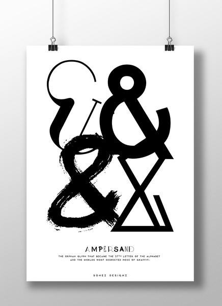 Image of Ampersand Poster