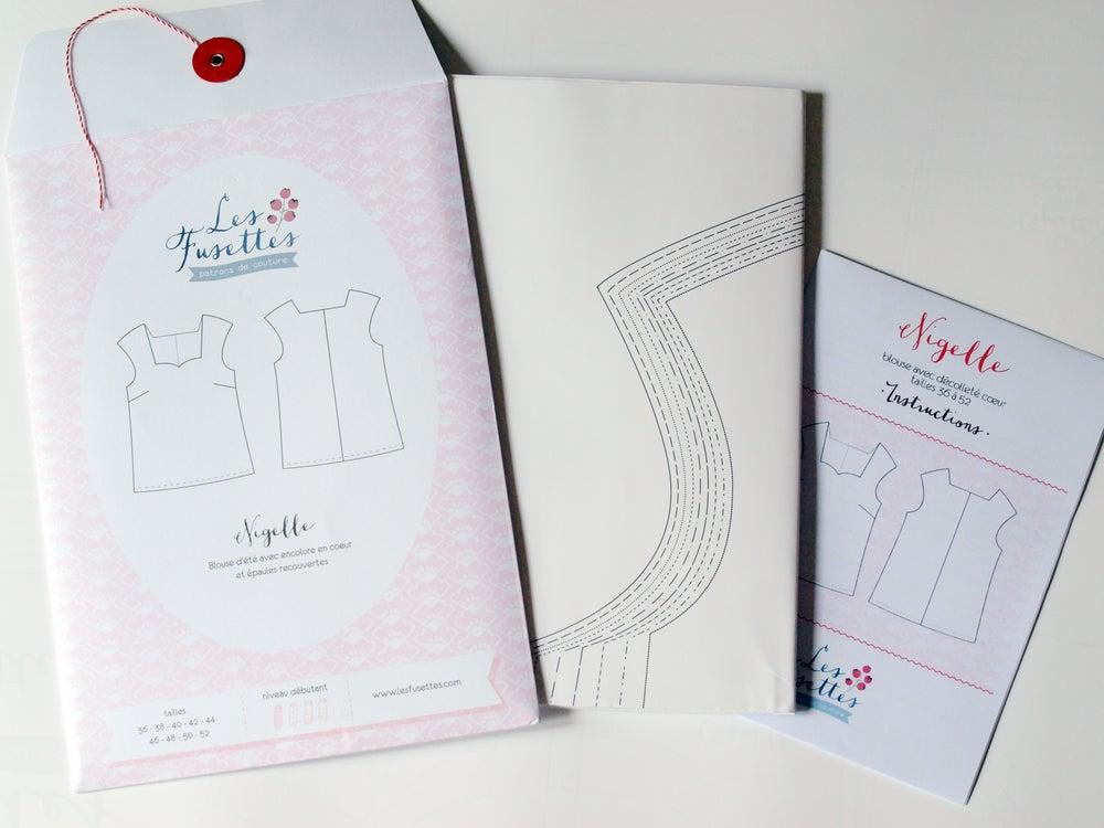 Image of Patron femme blouse Nigelle