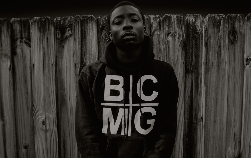 Image of Black BCMG Holy Grail Hoodie
