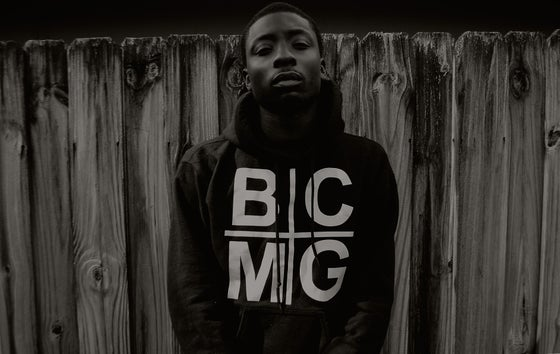 Image of Black BCMG Holy Grail Hoodie