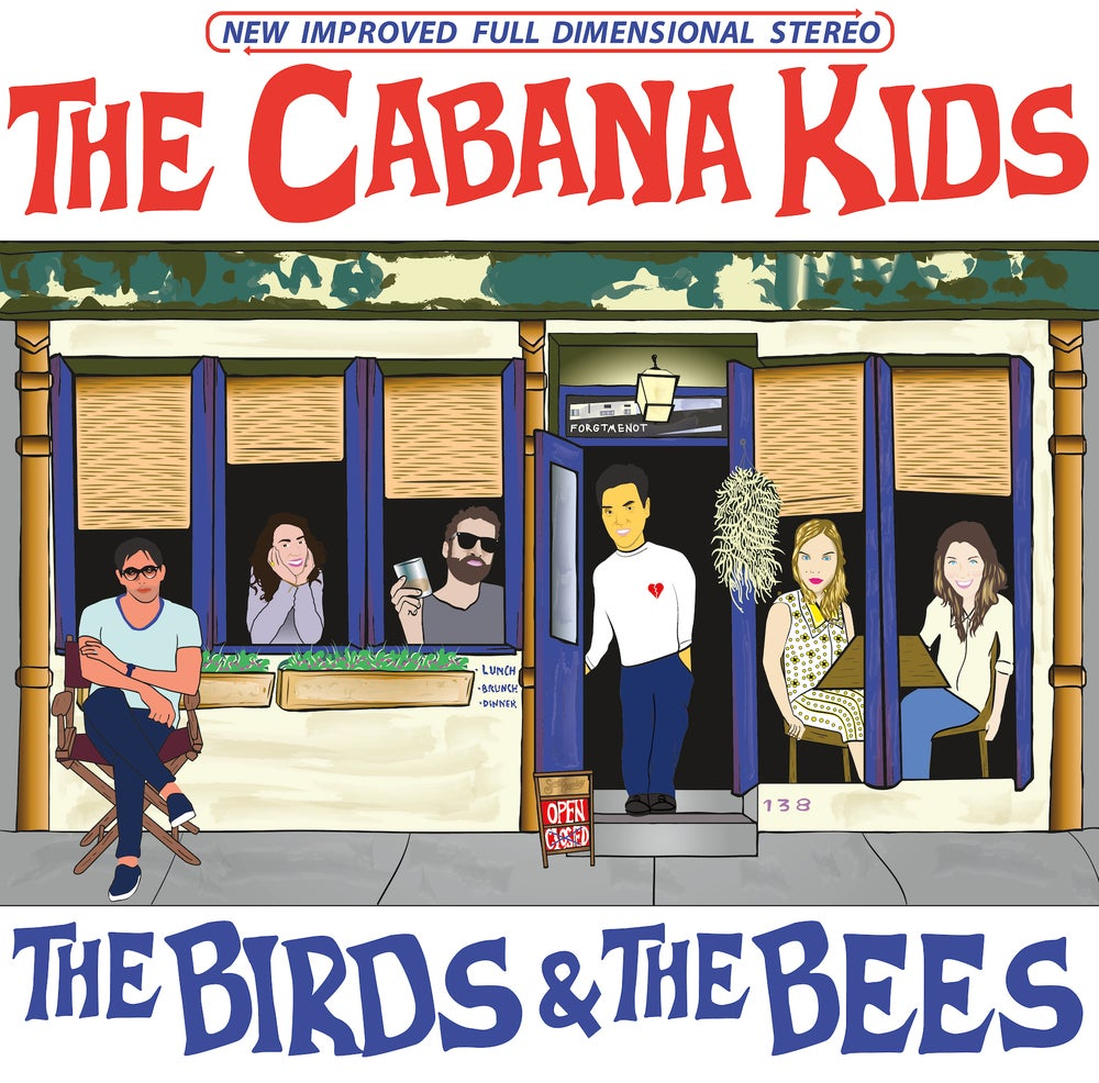 Image of The Cabana Kids - The Birds & The Bees