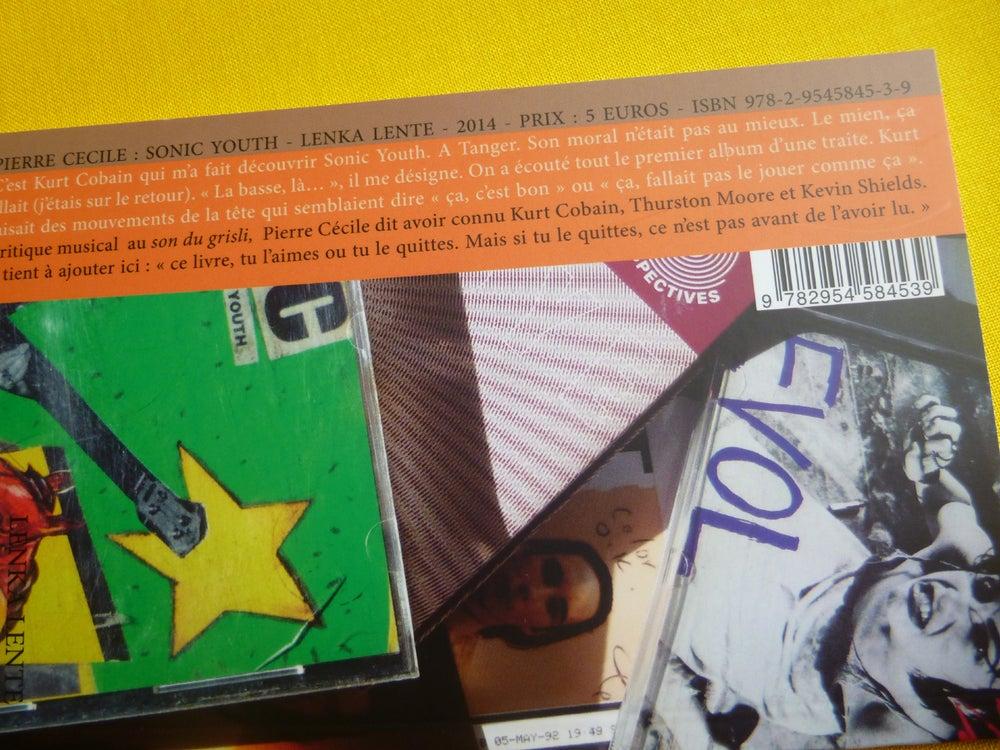 Image of Sonic Youth (Souvenir de Kurt Cobain) de Pierre Cécile