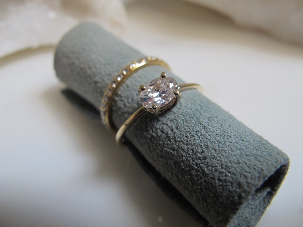 Image of SOLITAIRE DIAMOND RING