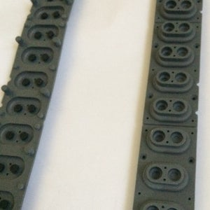 Image of Roland D-50 / Alpha Juno 2/ JX-10 (and others) Rubber Keyboard Contact Switches -Part 22185218 - NOS
