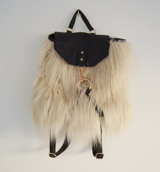 Image of FURRY BACKPACK