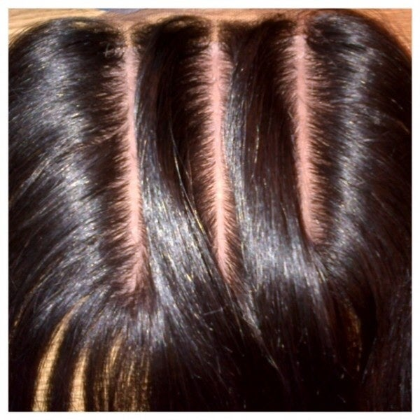 Image of 3 Part Lace Closure