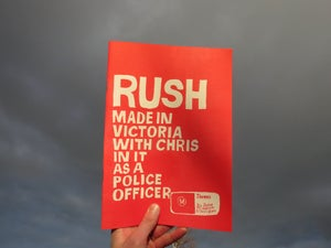 Image of Rush, Made in Victoria, With Chris in it as a Police Officer - 4th edition