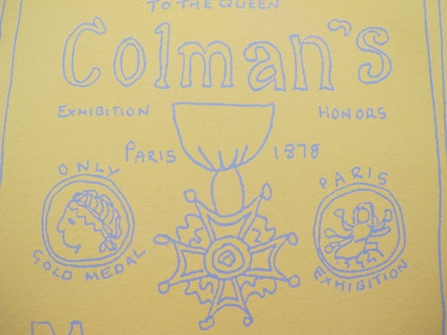 Image of C is for Colmans Print