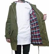 Image of Unisex Woodsman Jacket - Khaki Green