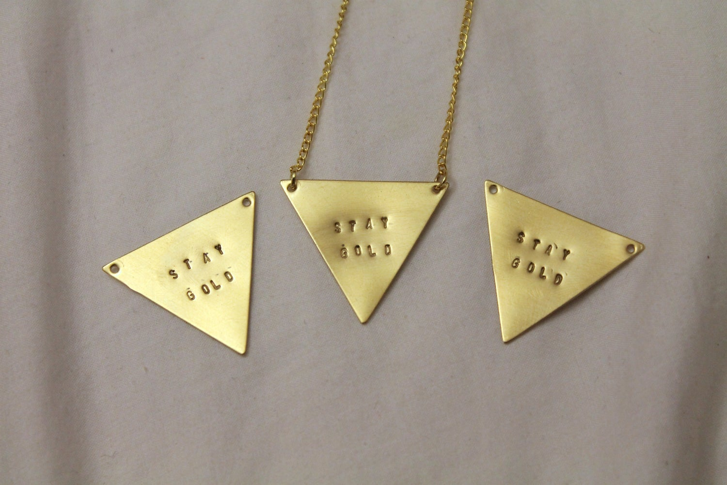 Image of Stay Gold Necklace