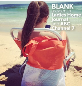 Image of [BLANK] HELLO BEACH Bag* As Seen in Ladies Home Journal and Daily Candy!
