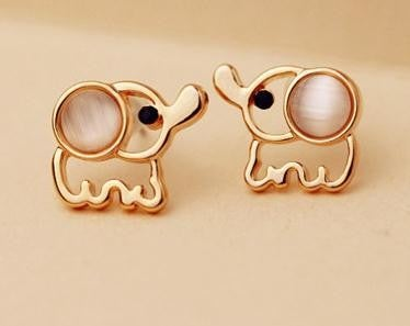 Image of CUTE ELEPHANT EARRINGS FOR GIRLS