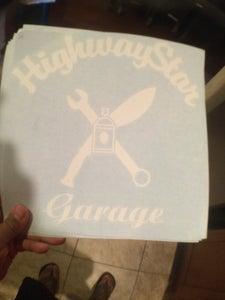 """Image of HighwayStar 10"""" Door logo"""
