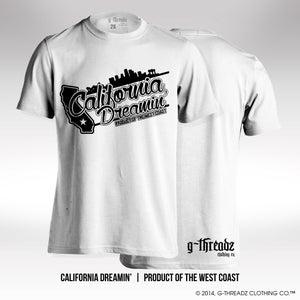 Image of G-Threadz Clothing Co. - CALIFORNIA DREAMIN' (Tee)