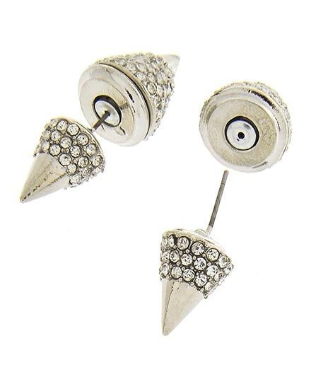 Image of Double Lux Cone Earrings
