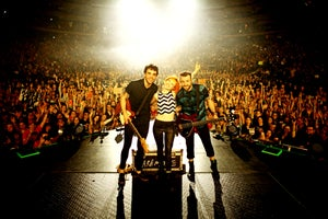 Image of Paramore MSG/NYC onstage photograph print