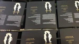 Image of ABRAHAM / COILGUNS - Split (Handmade Digipack CD)