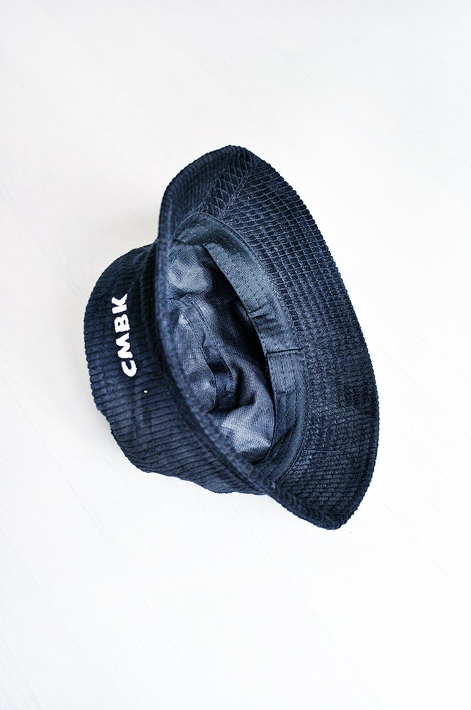 Image of CMBK Black Corduroy Bucket Hat