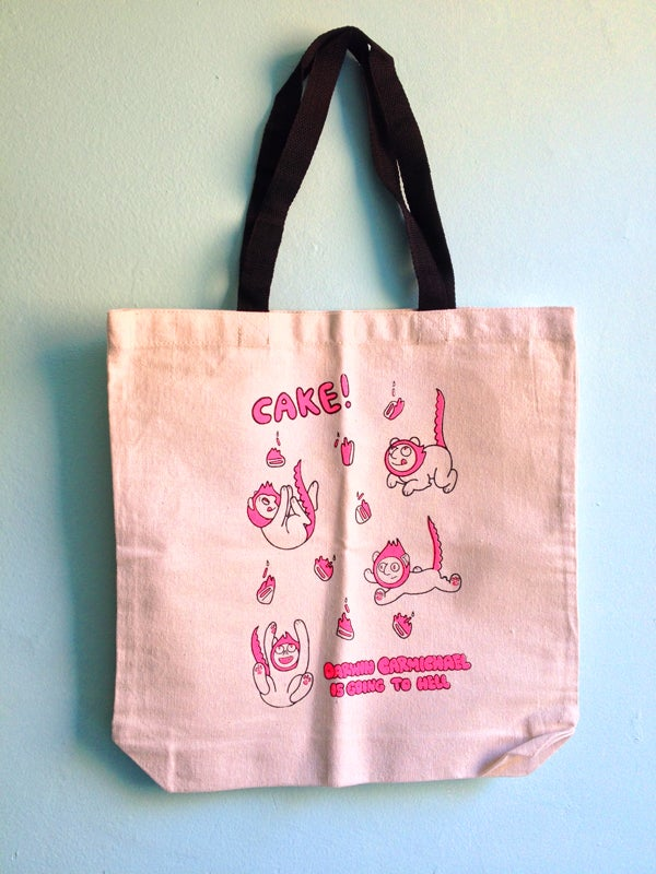 "Image of ""Cake!"" Tote-bag"