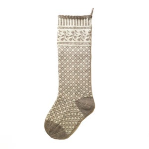 Image of Ligonberry Christmas Stocking (two color)