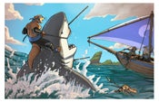 "Image of ""Shark Hunters"" 2014 Print"