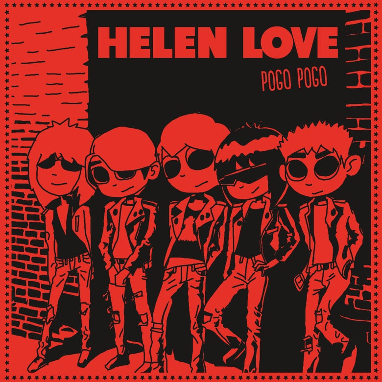 "Image of HELEN LOVE Pogo Pogo (Limited edition red 7"" vinyl EP + free MP3 download"