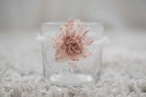 Image of Spring Flower Newborn Tieback Pink Headband