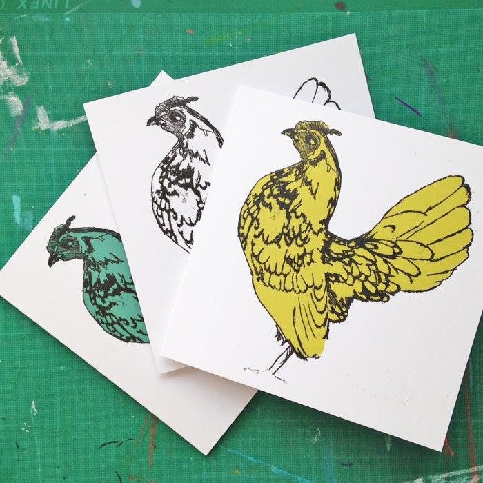 Image of Sebright Chicken Cards