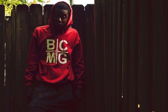 Image of Red BCMG Holy Grail Hoodie
