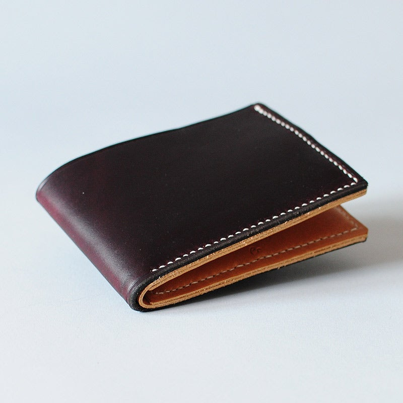 Image of Premium Bi-Fold Wallet - Horween® Chromexcel No.8 & Cashew