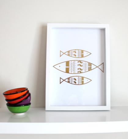 Image of Three Fish
