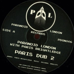 Image of PDON006 - Paranoid London – Paris Dub 2 - 12""