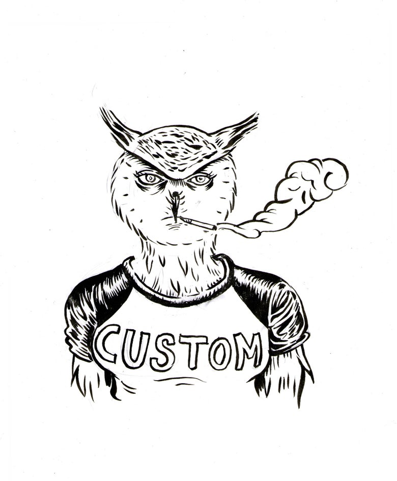 Image of Custom Hungover Bear Prints