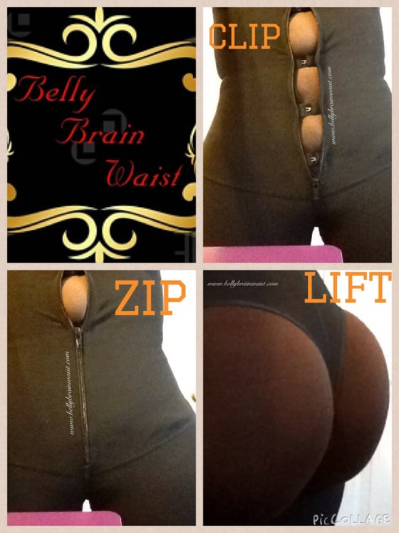 Image of Clip Zip & Lift WAIST CINCHER Butt Lifter Shapewear Girdle