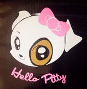 Image of Hello Pitty sticker decal