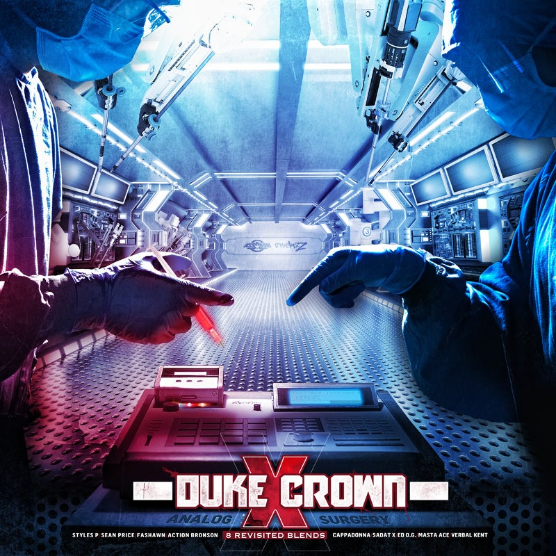 """Image of DUKE X CROWN 12 INCH COLOR RECORD VINYL """"ANALOG SURGERY """""""