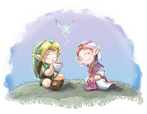 """Image of The Legend of Zelda """"Song of Time"""""""