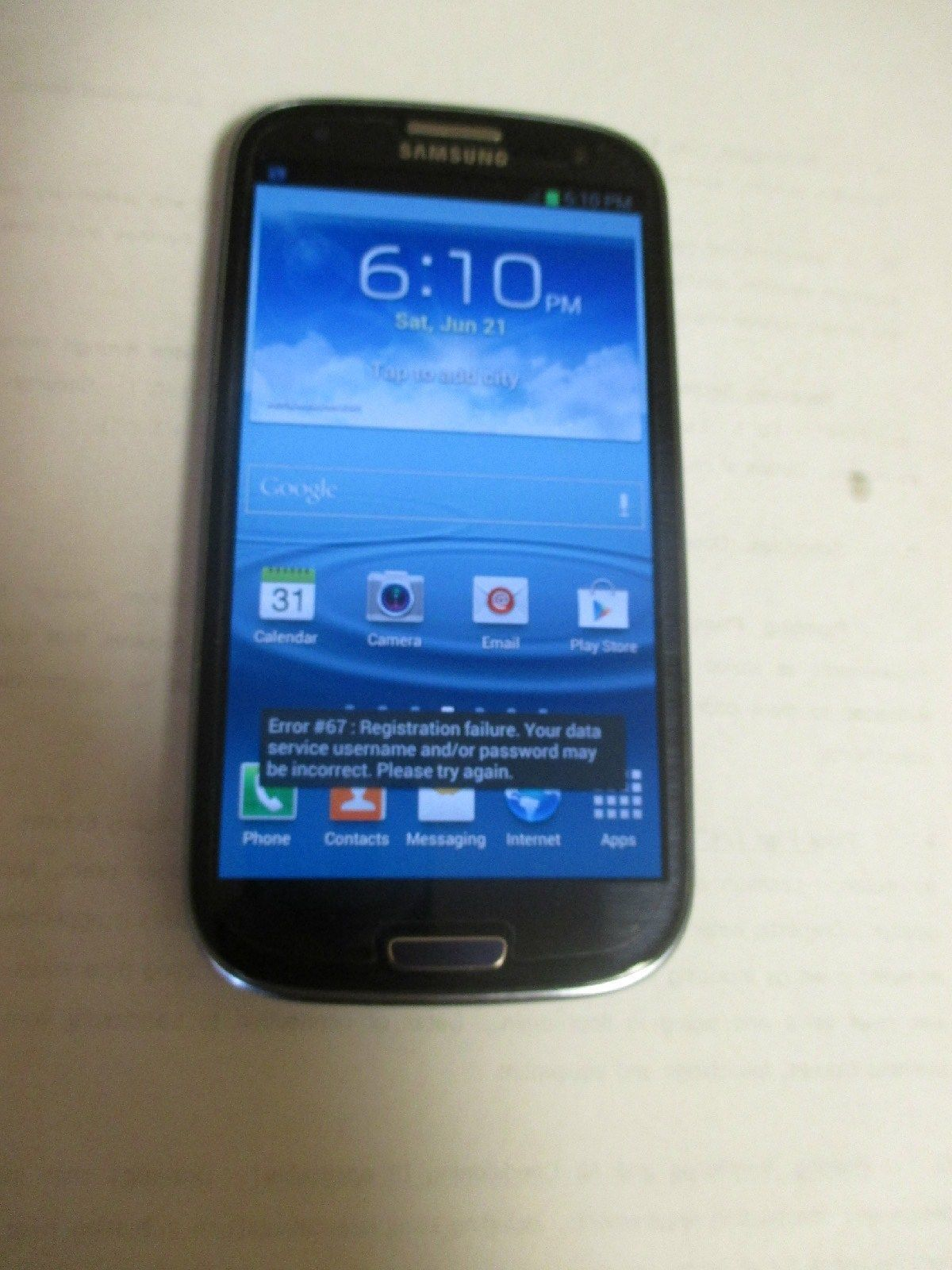 Galaxy s3 deals sprint