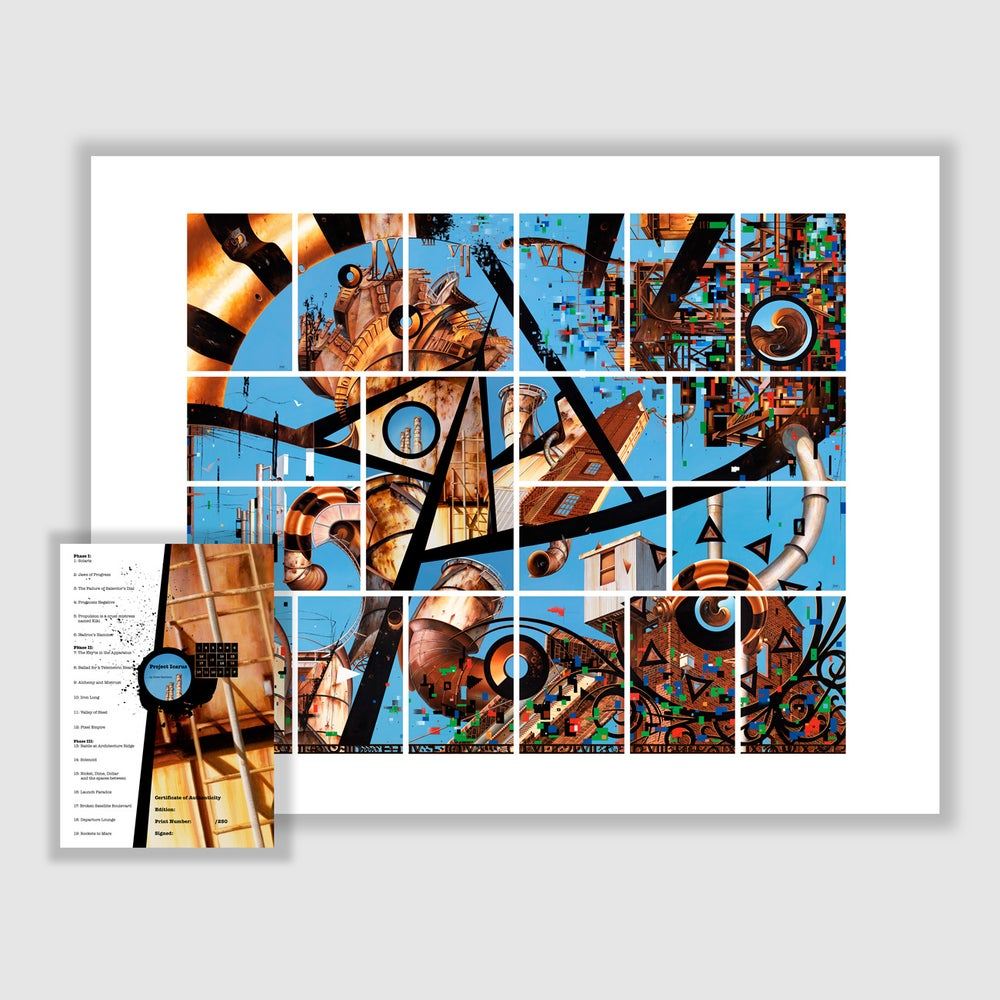 Image of Project Icarus Print