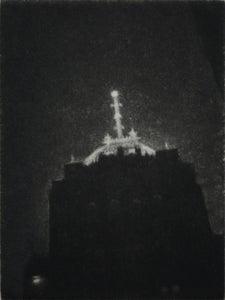 Image of Fisher Bldg Nocturne