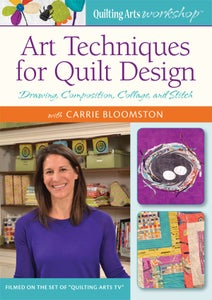 Image of my Art Techniques for Quilt Design DVD for Interweave