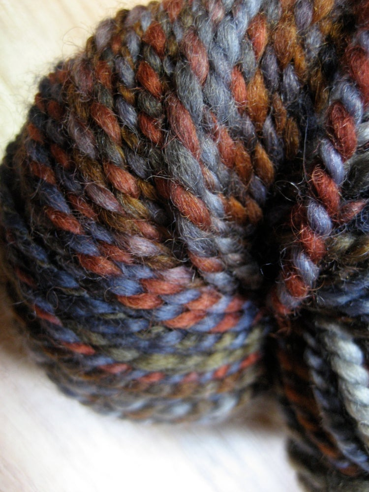 Image of Handspun Yarn: Left at the Doorstep