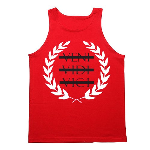 Image of Vici Tank (red)