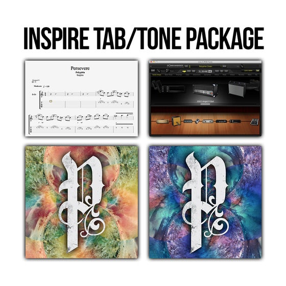 Image of Polyphia INSPIRE/ENVISION Tabs/Tone Package (Digital Download)