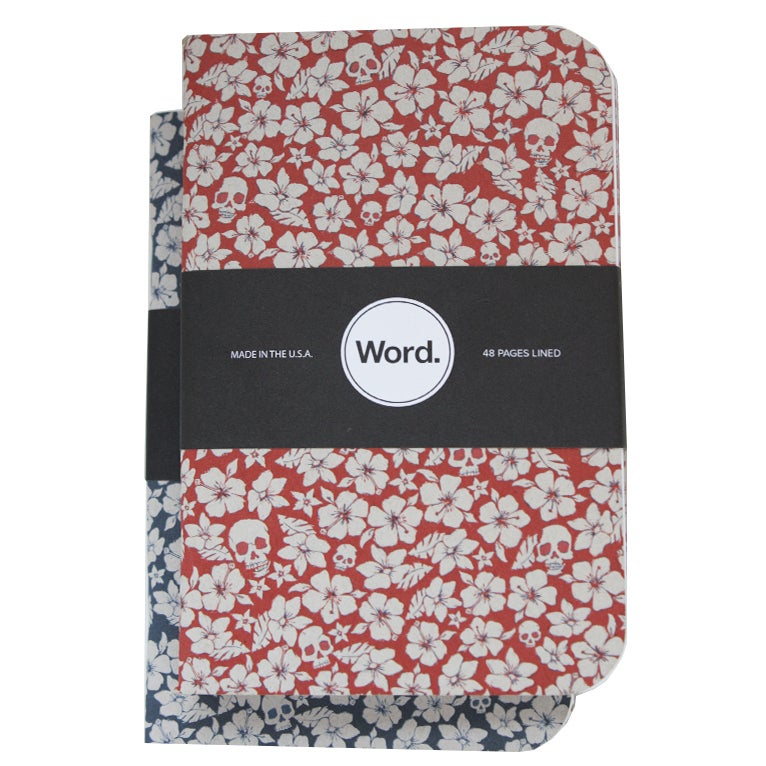 Image of Word. Notebooks - Floral