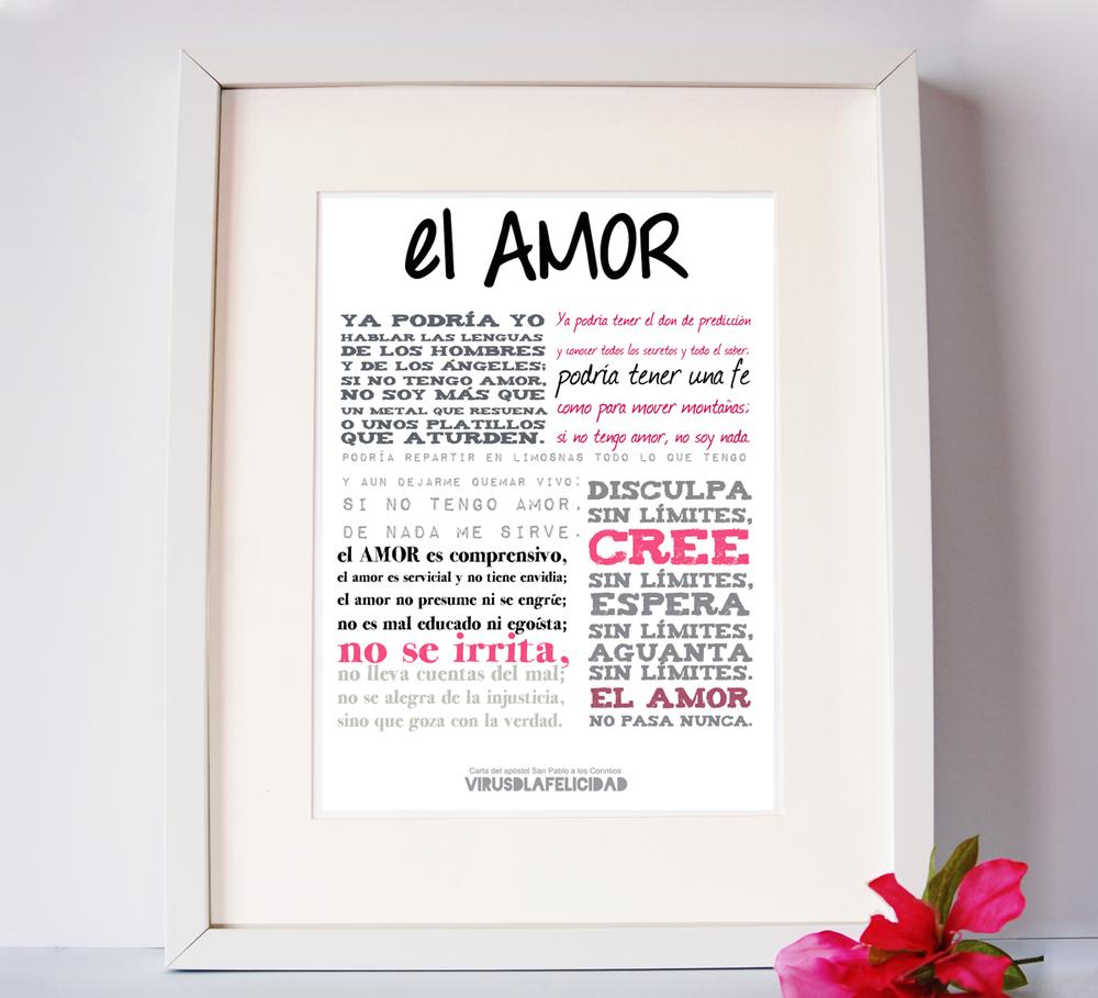 "Image of Lámina ""El Amor"""