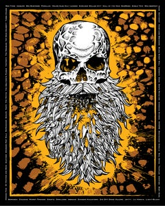 Image of CRUCIALFEST 4 SCREEN PRINTED POSTER