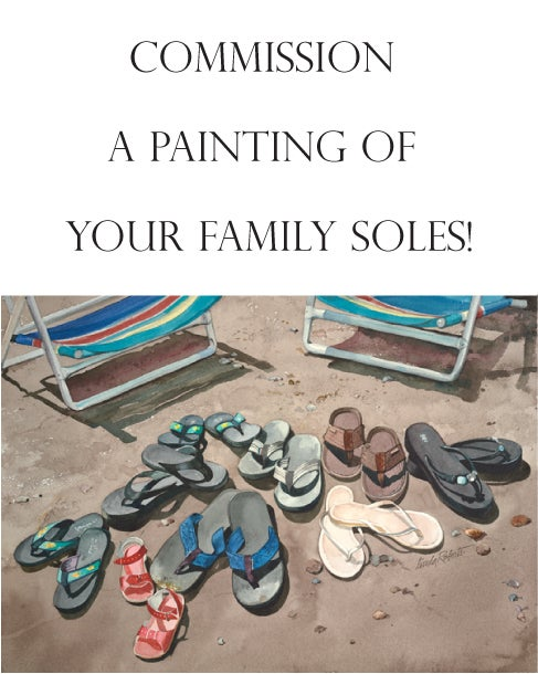 Image of Your own Family Soles original painting