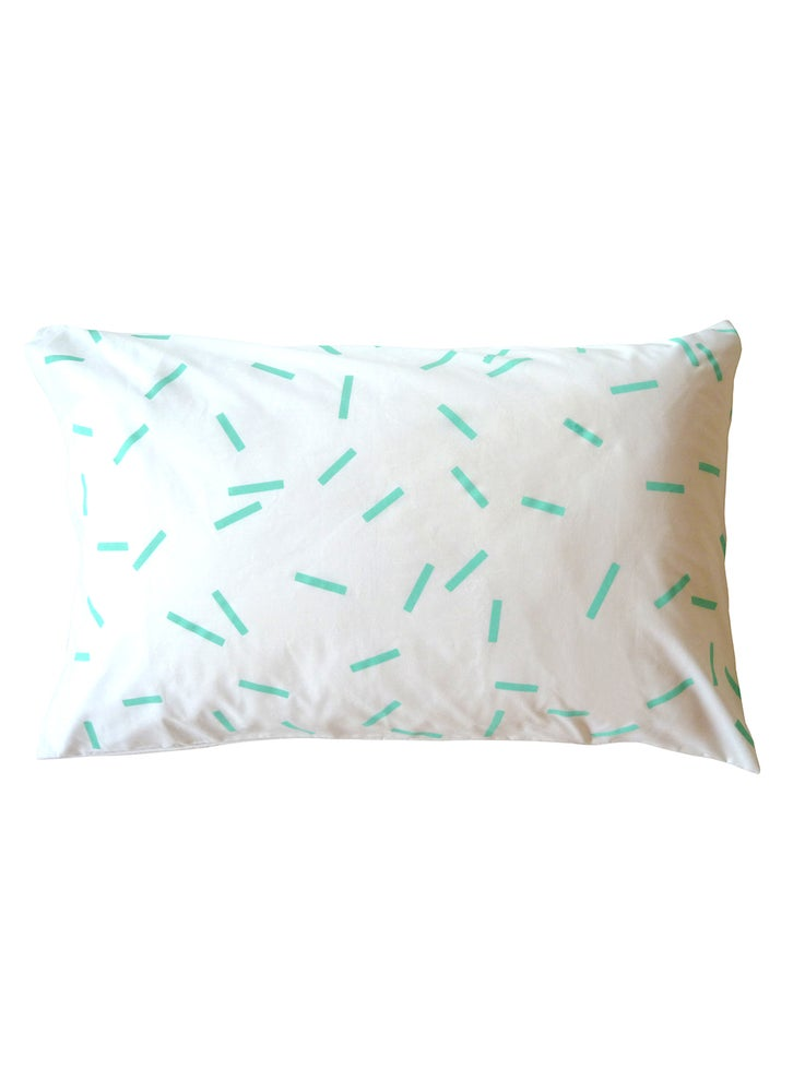 Image of MINT SPRINKLES PILLOWCASE